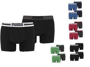 4er-Pack-Puma-Herren-Boxershorts-Placed-Logo-Gr-S-M-L-XL-Unterwaesche