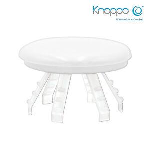 Abdeckung KNOPPO® Waschbecken Überlaufblende Mirror Delphin Motiv chrom