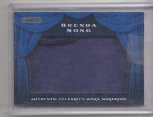 Razor-Wardrobe-Swatch-Relic-Trading-Card-Brenda-Song-The-Suite-Life-on-Deck-A1