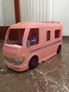 Barbie Camper dei Sogni con Piscina Bagno Cucina Scatola Originale Dream Camper