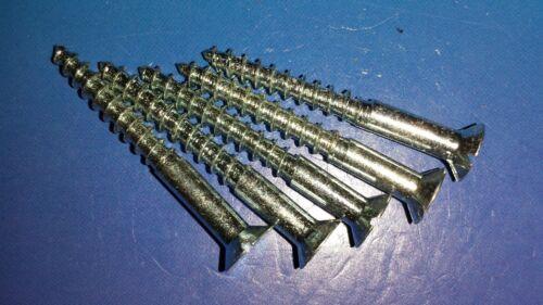 20 Holzschrauben DIN 97 3,5 x 30 mm Verzinkt Senkkopf Holzbau Restaurieren Antik