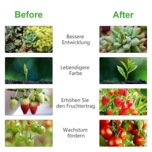 LED Pflanzenlampe Pflanzenlicht Dimmbar Grow Panel Profi 15W 45W Blumen Gemüse