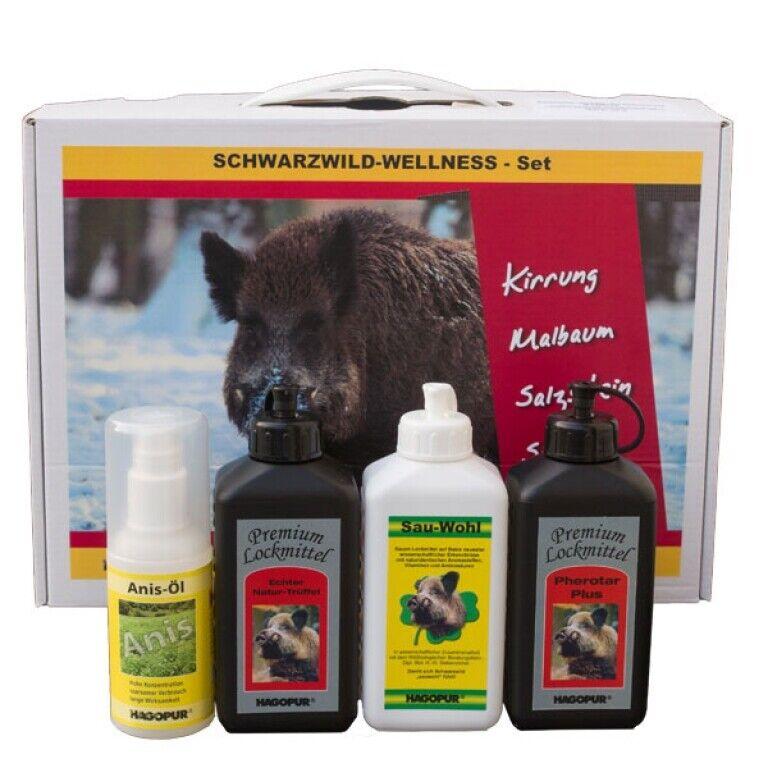Hagopur negro Wild-Wellness-set jabalí kirrung malbaum suhle parada...