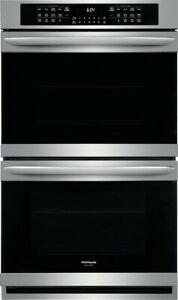 """Frigidaire Gallery FGET3066UF 30"""" Double Electric Wall Oven, Stainless Steel"""