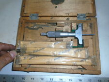 MACHINIST TOOLS LATHE MILL Machinist Mitutoyo Depth Gage Gauge Micrometer