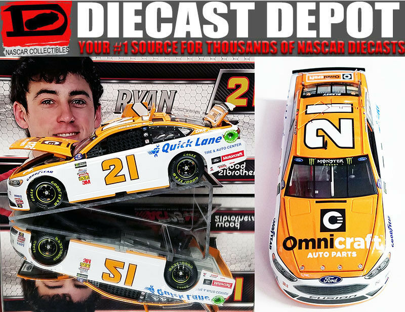 RYAN BLANEY 2017 OMNICRAFT  21 FUSION 1 24 SCALE  ACTION NASCAR DIECAST