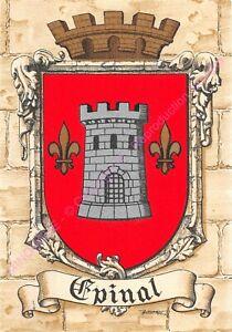 Postcard-France-Coat-of-Arms-88000-Caen-EDT-Dayez