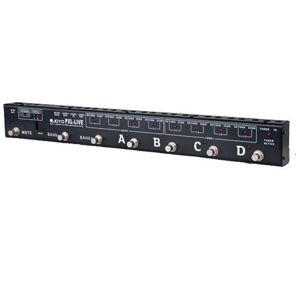 Joyo PXL-LIVE Dual 4-Channel Programable BuffeROT Bypass MIDI Pedal Controller