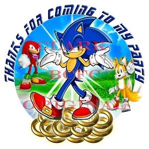 70 x Sonic The Hedgehog 37mm party stickers favours cone labels birthday parties - England, United Kingdom - 70 x Sonic The Hedgehog 37mm party stickers favours cone labels birthday parties - England, United Kingdom