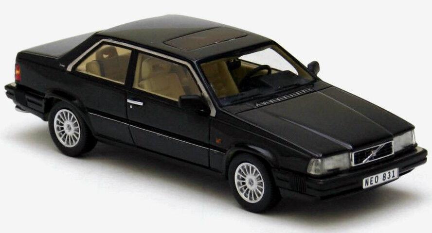 descuentos y mas Maravilloso MODELCoche Volvo 780 780 780 Bertone Coupe 1988-Negro - 1 43 - lim.ed.700  venta de ofertas