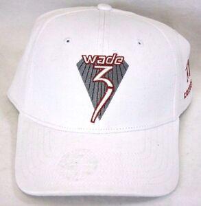 NEW Mens Dwyane Wade  3 CONVERSE Stretch Fitted Hat Cap L XL L XL ... 9ab01213891