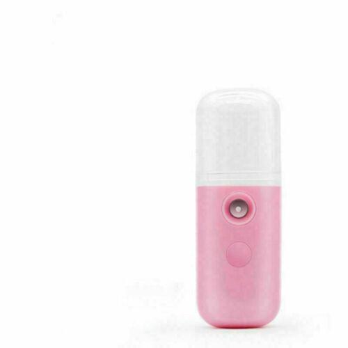 Mini Nano Mist Sprayer Face Spray Facial Body Steamer Moisturizing Humidifier