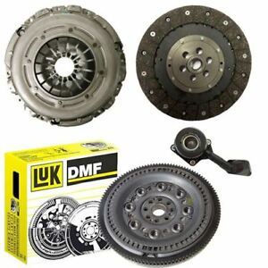 LUK-Doble-Masa-Rigida-Volante-Kit-de-embrague-y-CSC-para-un-Ford-S-MAX-MPV-1-8-TDCi