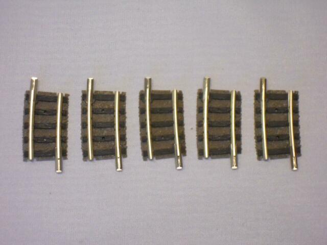 Flm piccolo 9123 gebogenes Gleis R1 7,5° TOP 5 Stück (33730)