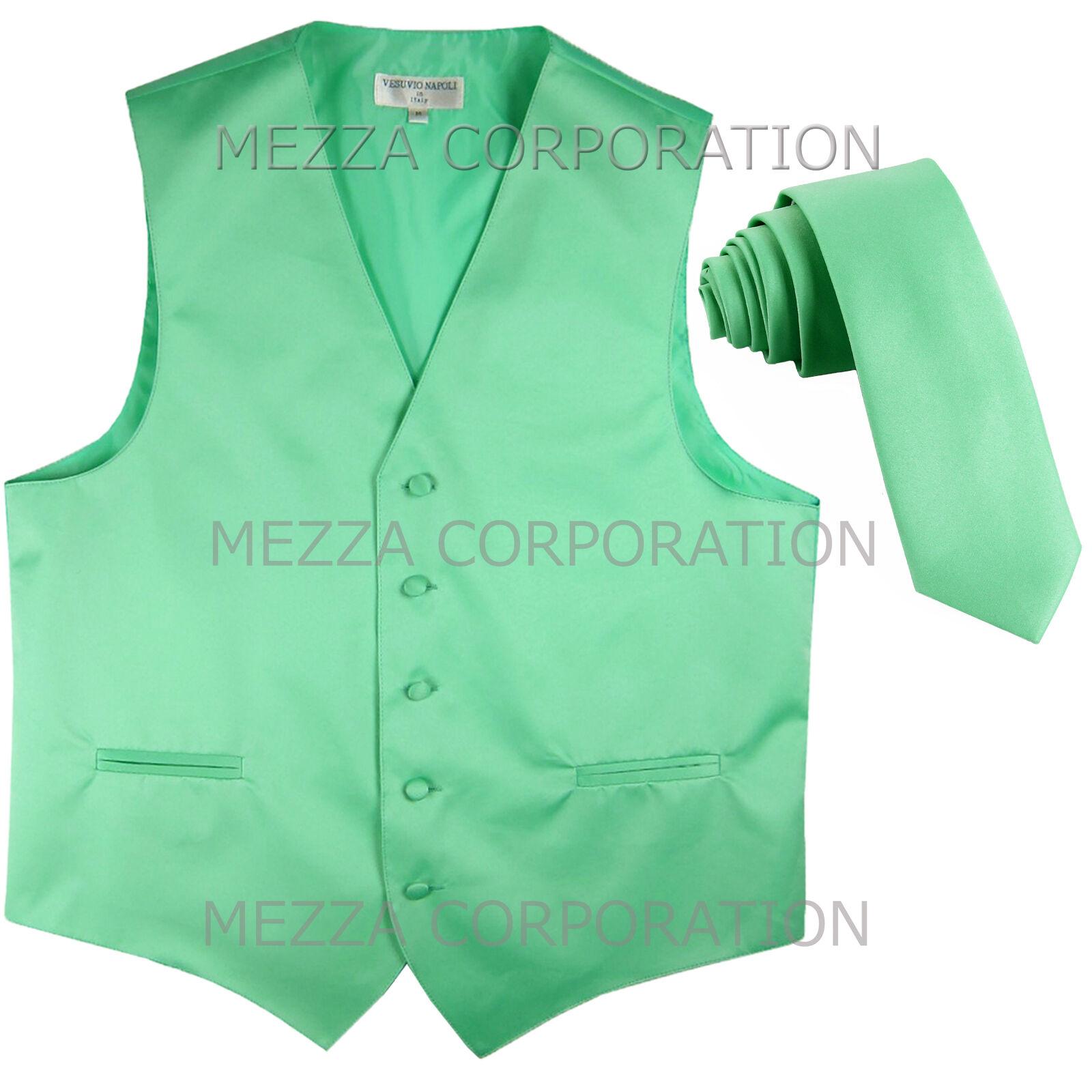 New Men's Vesuvio Napoli Tuxedo Vest 2.5