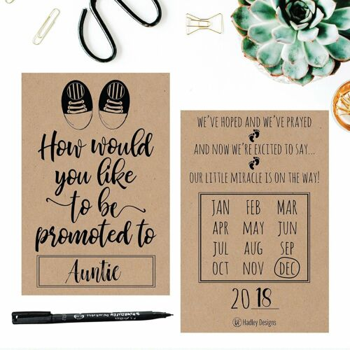 25 Rustic Pregnancy Announcement Card Set Were Expecting Baby Surprise Having...