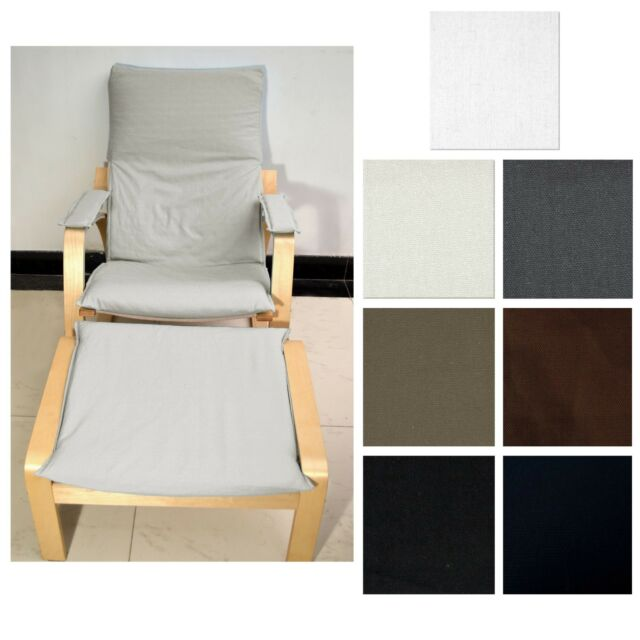 Pleasing New Easy Fit Slipcover No Zipper Tailor Made For Ikea Poang Arm Chair Aa5 Bralicious Painted Fabric Chair Ideas Braliciousco