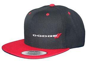 Image is loading Dodge-hat-cap-flat-bill-snapback-ram-mopar- ff70bba70a3