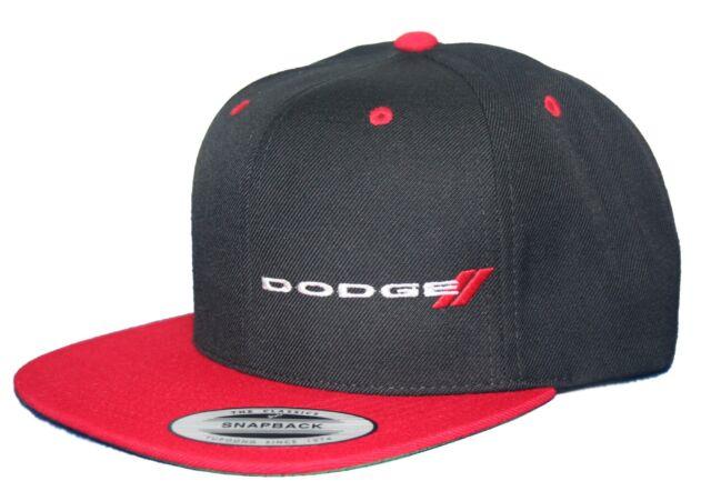 Buy Dodge Hat Cap Flat Bill Snapback RAM MOPAR HEMI SRT online  77a463bb873