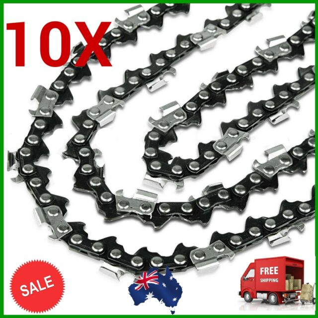 "10X 14"" CHAINSAW CHAINS SEMI CHISEL 3/8LP 043 50DL Stihl MS170 MS171 MS180 MS181"
