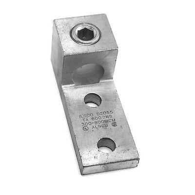 Thomas /& Betts AL-1000-NMS Aluminum Tin-Plated Two-Hole NEMA Lug