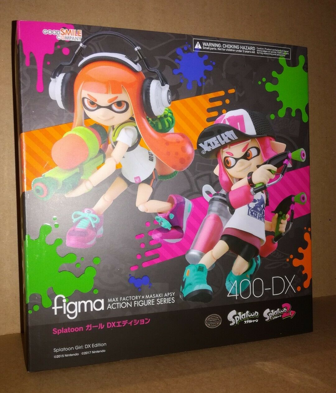 Good Smile Company Max Factory Figma 400 DX Splatoon Deluxe Edition .