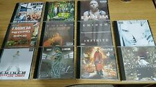 Eminem 11 CDs includes Infinite Slim Shady Ep mixtape CD Dr Dre D12 rap hip hop