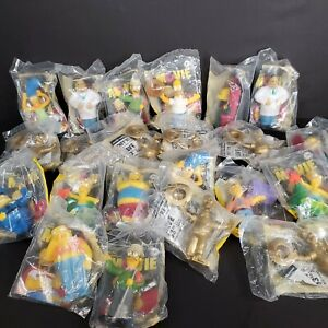 Lot-Of-22-The-Simpsons-Movie-Burger-King-Kids-Meal-Toys-2007-and-3-Simpsons-2008