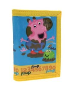 Peppa Pig George Wallet A great practical gift for the Peppa Pig fan!
