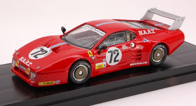 Ferrari 512 Bb th Lm 1982 A. Cudini   J. Morton   J. Paul Jr.1 43 Model