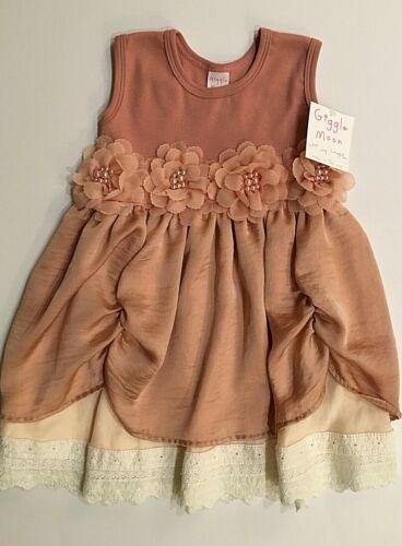 18 mo 3T  6yrs   Abigail Dress NWT GIGGLE MOON Girls Sizes