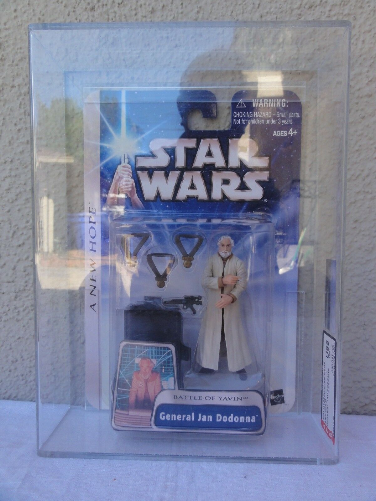 Star - wars - 2004 anh general jan dodamen schlacht yavin afa versiegelt mib - box