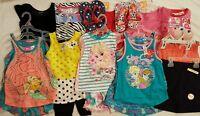 Girls 4t, 4/5, 5t Lot All Summer Spring Shorts Sets Dressy Skirt Shirt Pj