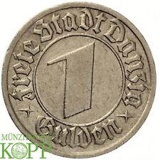 AA120) J.D15 FREIE STADT DANZIG 1 Gulden 1932