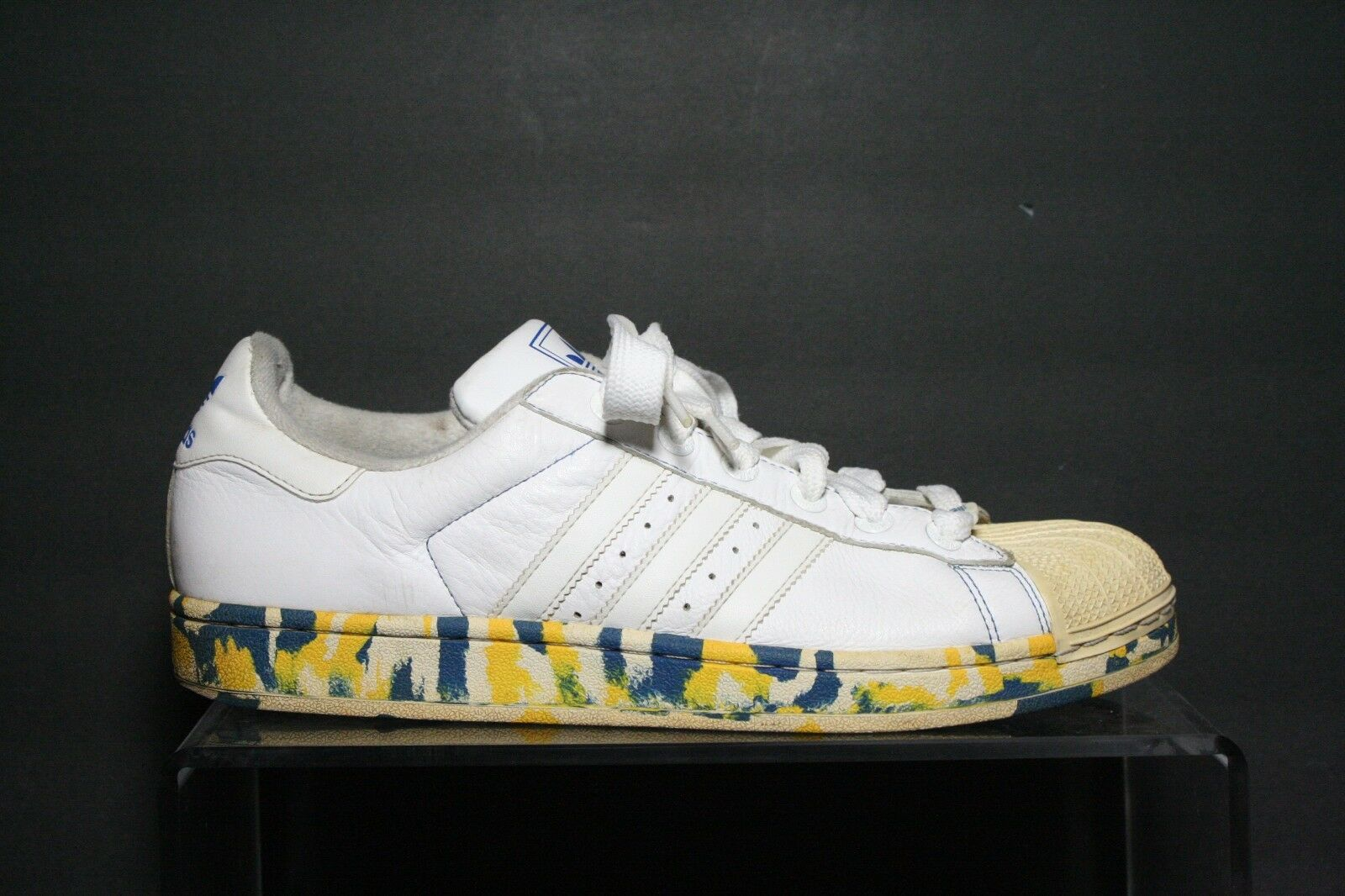 Adidas Superstar 06' Sneaker Hipster Athletic Multi Size 11 Multi Tie Dye