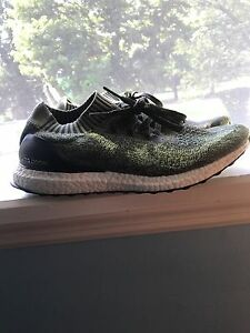 0ff8cc493 adidas Ultra BOOST Uncaged Men s Running Shoes - BB3901 Green Olive ...
