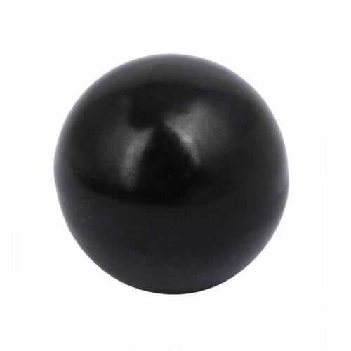 10mm Thread Dia Plastic Ball Knob Round Handle Grip Black for Machine Tool