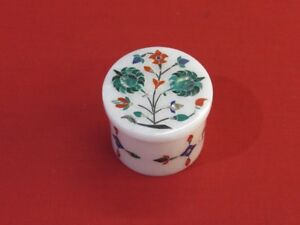 Marble-Jewelry-Box-Stone-Inlay-Pietra-Dura-Work-Handmade-Home-Decors-for-Gifts