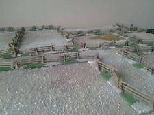 24  x 15mm pieces of snake/picket fencing ACW, FIW, AWI