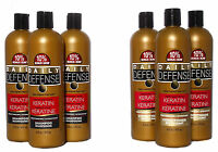 Daily Defense Moisturizing Keratin Shampoo Or Conditioner 16 Oz. Lot Of 3