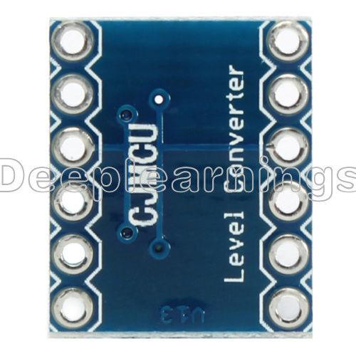 10PCS Two Channel IIC I2C Logic Level Converter Bi-Directional Module 5V to 3.3V