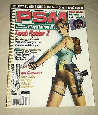 Psm Playstation Magazine December 1997 Games Gamers Lid Sticker
