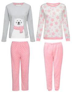 New Kids Soft Boys Girls Pyjamas Sleepwear Bear Print Nightwear Sets ... 3b87e0a68