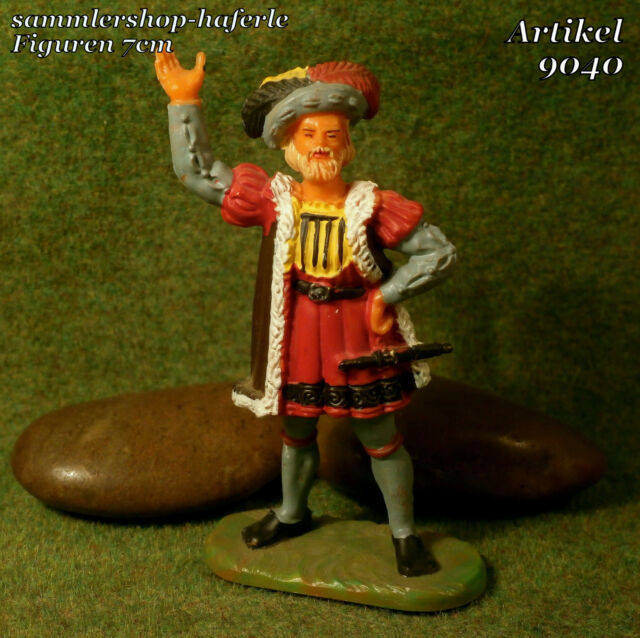Original Hausser Elastolin 7cm LANDSKNECHT naturgetreu & handbemalt N°9040 #