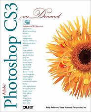 Adobe Photoshop CS3 on Demand Anderson Johnson Perspection, Inc. 9780789736918