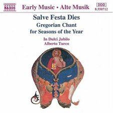 Il Dulci Jubilo, In - Salve Festa Dies Gregorian Chant [New CD]