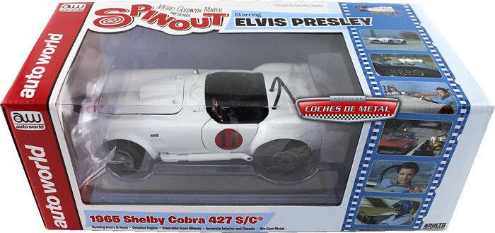 AWWAWSS104 by AUTOWORLD SHELBY COBRA 427 S C 1965 1 18