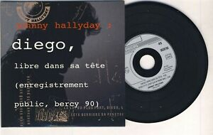 JOHNNY-HALLYDAY-CD-prix-mini-DIEGO-MON-P-039-TIT-LOUP-LIVE-1990