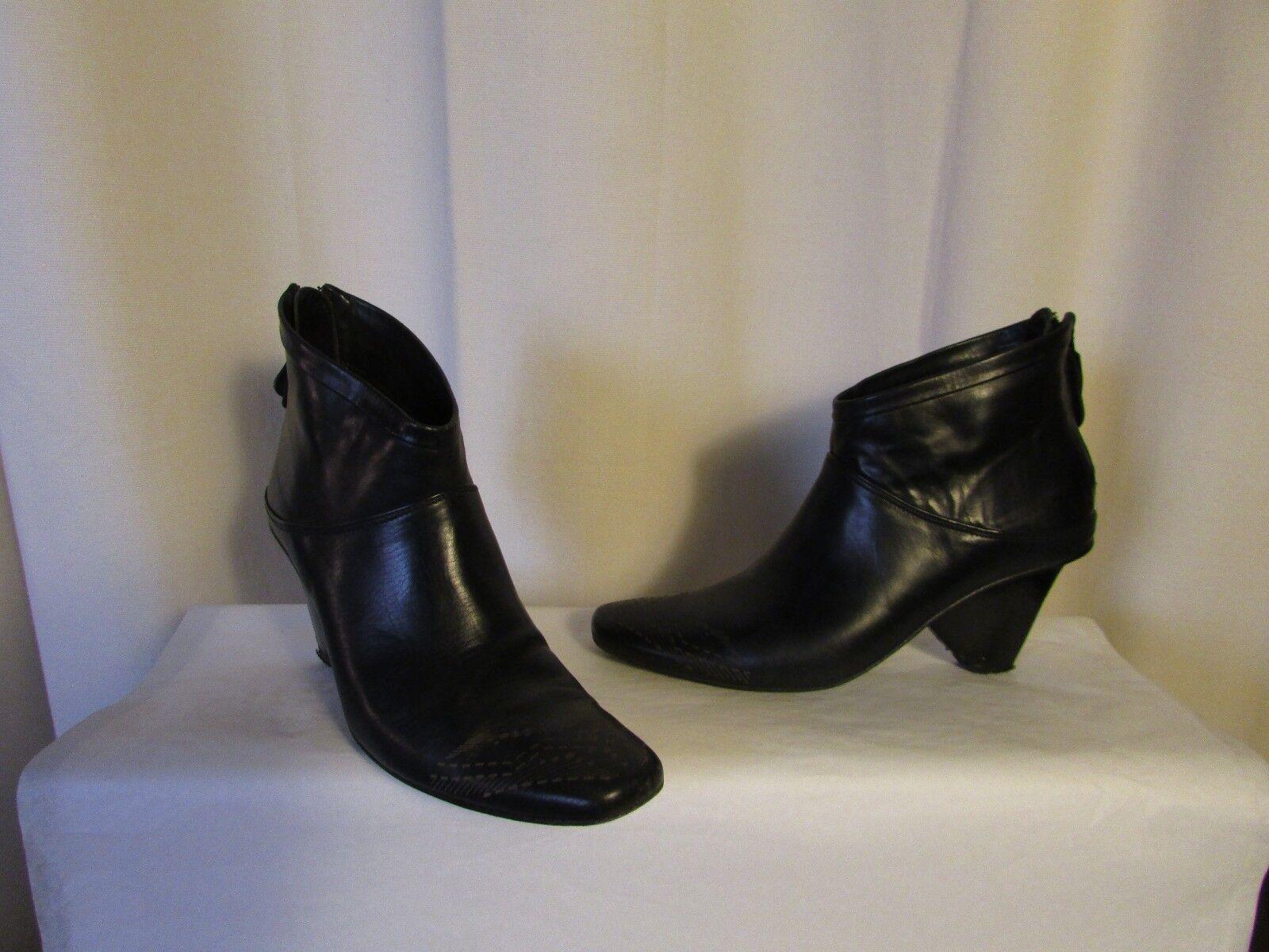 boots/bottines Marithé Girbaud François Girbaud Marithé cuir noir 37 ca13a4