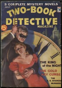 Two-Book-Detective-Magazine-1934-July-Pulp